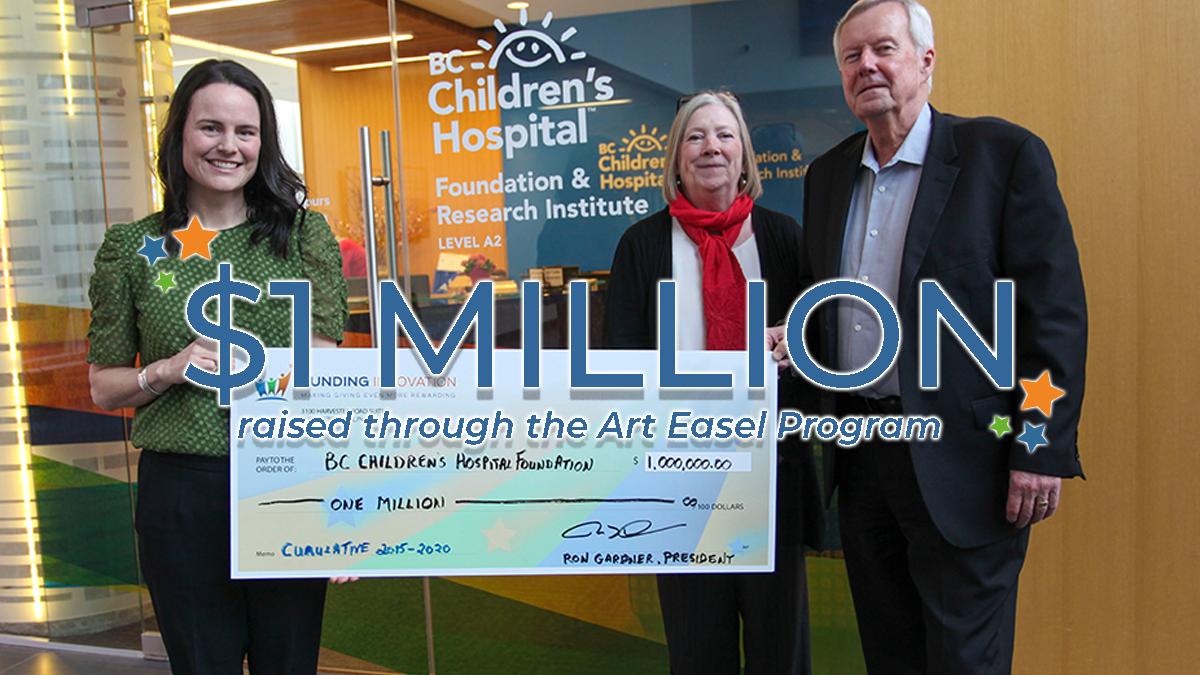 $1 MILLION raised for BC Children's Hospital Foundation